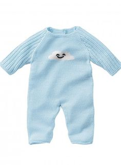 Mag 160 - #03 - Sleep suit and bootees |FREE PATTERN from Bergere De France NB - 6 MONTHS