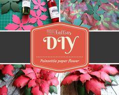 Project Gallias: DIY: Poinsettia paper flower czyli robimy gwiazdę betlejemską