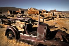 Bodie, California. One of the more famous of the ghost towns of the American West, Bodie is a National Historic Landmark and a California state historic park.