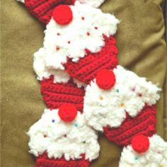 Adorable!! Cupcake scarf!!