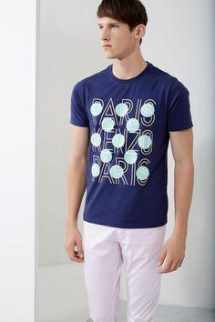 Kenzo Paris & Dots T-shirt - Kenzo Spring/Summer 2015 Men - Kenzo E-shop