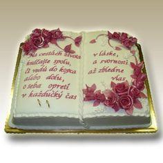 torta kniha s fotkou - Hľadať Googlom