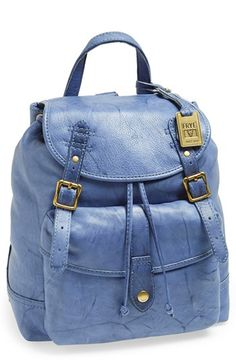 $438, Campus Backpack Sapphire by Frye. Sold by Nordstrom. Click for more info: http://lookastic.com/women/shop_items/132348/redirect