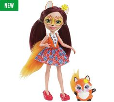 Buy Enchantimals Felicity Fox Doll at Argos.co.uk, visit Argos.co.uk to shop online for Dolls, Dolls and playsets, Toys