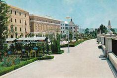Avenida Teniente Flomesta años 70 via Museo Huertano de Murcia