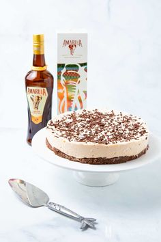 Amarula Cheesecake – the best South African dessert with Amarula liqueur Amarula cheesecake is a South African style no-bake cheesecake using the Amarula liqueur from the marula tree. It carries creamy notes of vanilla & caramel. South African Desserts, South African Dishes, South African Recipes, No Bake Desserts, Delicious Desserts, Dessert Recipes, Yummy Food, Cheesecake Recipes, Caramel Cheesecake