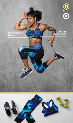 Get ready to take on the world (or just a workout) in all new C9 Champion sports bras. Featuring moisture wicking technology, performance compression fabric, and comfortable stretch, you'll be able to reach your gym goals, fit goals, or maybe just looking-good-and-feeling-great goals. Introducing a new kind of strong. Only at Target.