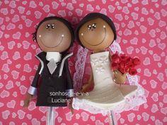Ponteiras, servem para dar como lembrança  no seu casamento, para padrinhos ou não. O preço indicado é do casal, e vem acompanhado de caneta. R$ 8,00