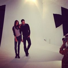 #behindthescenes at our Spring Lookbook Agave Shoot, coming to you all the way from LA!  #agavedenim #spring #fashion #LA