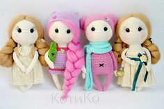 Amigurumi Sweet Dolls-Free Pattern - Amigurumi Free Patterns