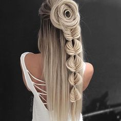 Amazing #fishtail #braid