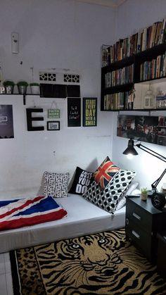 Room Design Bedroom, Girl Bedroom Designs, Modern Bedroom Design, Room Ideas Bedroom, Home Room Design, Small Room Bedroom, Interior Design Living Room, Cozy Bedroom, Bedroom Decor