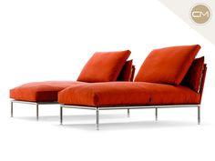 Nest Chaise Longue diseñado por Stefano Gallizioli para Coro.  Pregunta por él en #CorsoMoliere. www.corsomoliere.com.mx