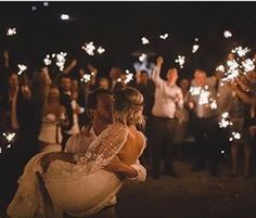 """6,319 Likes, 35 Comments - Grace Loves Lace (@grace_loves_lace) on Instagram: """"A sky full of stars and he was staring at her. #GLLBride Kristy in our VERDELLE gown, recreate the…"""""""