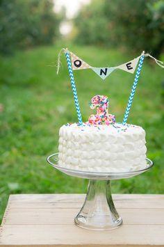 First birthday smash cake -