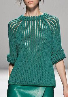 35 ideas for knitting inspiration awesome yarns Knitwear Fashion, Knit Fashion, Womens Fashion, Moda Crochet, Knit Crochet, Fashion Details, Fashion Design, Fashion Trends, Pulls