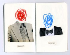 Anthony Zinonos smart vintage collages