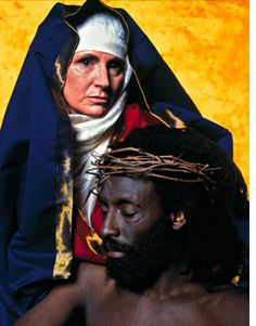 Andres Serrano, The Interpretation of Dreams (The Other Christ), 2001.