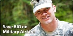 airline military discount tickets