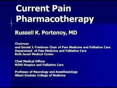 Current Pain Pharmacotherapy