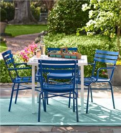 Find This Pin And More On Screened Porches By Mimihable. Bright Metal Patio  Furniture ...