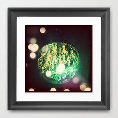 UFO ORB Framed Art Print