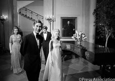 British Monarchy-Flickr: The Prince of Wales and Princess Anne with Tricia Nixon, July 17, 1970
