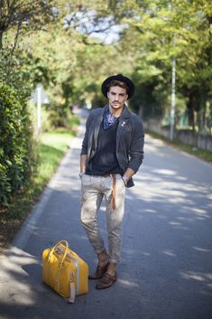 MenStyle1- Men's Style Blog - Casual Men's Style. FOLLOW: Guidomaggi Shoes...