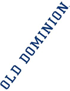 Product: Old Dominion University Strip Decal
