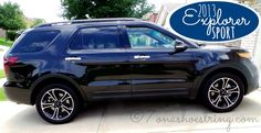 Sleek Styling and Family Functionality in 2013 Ford Explorer Sport #FordTX