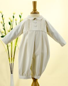 53f9726a3816 A smart ivory cotton with pin tuck and button detail on chest. A soft and  comfortable material