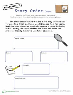 Teach note taking with this details tree note taking organizer story order case 1 ccuart Choice Image