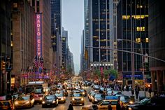 All sizes | NYC Street with Radio City Music Hall - JoeyBLS Photography | Flickr - Photo Sharing!