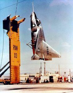 X-13 RYAN COMPANY - VERTIJET - 1953 - HUMMINGBIRD - 6
