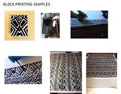Block Printing by Alkistis Kournianou