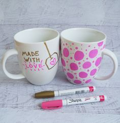 Sharpie Mug DIY Project | POPSUGAR Smart Living