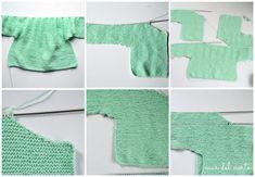 Un poco más autónomos (DIY chaqueta de punto para niña) – EL MAR DEL NORTE Diy, Baby Coming Home Outfit, 3 Year Olds, Baby Knitting, How To Knit, Crocheting, Tejidos, Bricolage, Do It Yourself