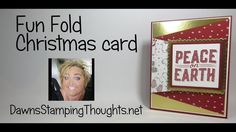 Dutch Fold Christmas Card with Pretty Pines Thinlits and Christmas Pines Stamp . - Card making Fun Fold Cards, Pop Up Cards, Folded Cards, Holiday Cards, Christmas Cards, 3d Cards, Winter Cards, Christmas 2017, Card Making Tips