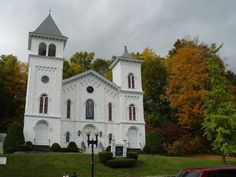 Church in New England.