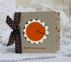 Thanksgiving Note by meisu4 - Cards and Paper Crafts at Splitcoaststampers