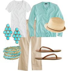 Love this for spring/ summer... minus the hat (not sure I could pull that off)