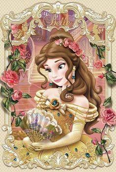 Disney Princess Belle, Princess Fotos, Princesa Disney Bella, Disney Princess Pictures, Disney Princess Drawings, Princess Cartoon, Disney Pictures, Disney Drawings, Disney Princesses And Princes