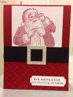 Tammy Avery stamp set-Santa's List by Stampin' Up