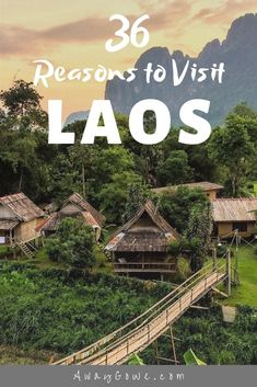 Planning travel to Southeast Asia? Here are 36 reasons from a budget backpacker and Laos expat why you need to put a visit to Laos on your shortlist right now. Prabang Destinations en Asie 36 Reasons Why You Should Visit Laos Now Laos Travel, Travel Blog, Asia Travel, Budget Travel, Travel Tips, Travel Info, Travel Set, Travel Articles, London Travel