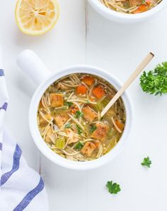 A plant-based recipe for 'chicken' noodle soup made with cubed organic tofu. Not only does it taste amazing but it's comforting and just as satisfying as the classic version! I really wish I would have got around to posting this recipe last week because I have a feeling those of you that were hit with …
