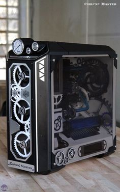 Mod of the Month January 2017 in Association with Corsair Chrono Master by neSSa Gaming Pc Build, Computer Build, Gaming Pcs, Computer Setup, Computer Case, Computer Technology, Technology Gadgets, Gaming Computer, Computer Gadgets
