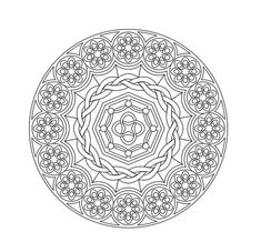 Printable mandalas the boys love to color these marvellous design mandala colouring pages for kids. Abstract Coloring Pages, Pattern Coloring Pages, Free Adult Coloring Pages, Mandala Coloring Pages, Free Printable Coloring Pages, Coloring Book Pages, Coloring Sheets, Mandala Design, Mandala Pattern