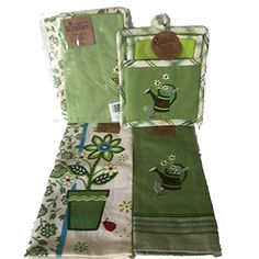 Kay Dee Cottage Garden Apron, Towels and 3 Pc Oven Mitt Set Bundled Gift Set Kay Dee http://www.amazon.com/dp/B00Y8N70N0/ref=cm_sw_r_pi_dp_xeuIvb1T25NXS