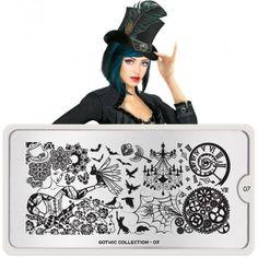 Gothic Nail Art Design 07