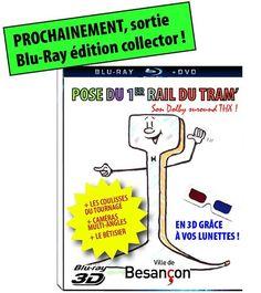 Le Grand Besançon en fit des tonnes le jour de la pose du 1er rail du tram (diffusion en direct sur le Net notamment).  Un internaute taquin me proposa ceci.   http://bisonteint.net/2012/06/21/bavardage/le-tout-premier-rail-vaille-que-vaille/